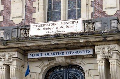 image de couverture de Conservatoire de musique et de danse Claude Debussy