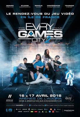 image de couverture de Evry Games City 2 - Samedi 16 et 17 avril