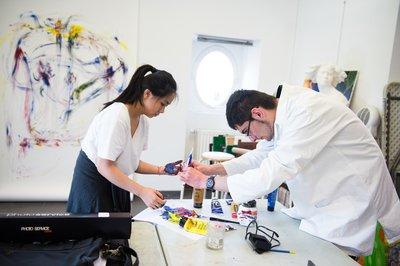 image de couverture de Portes ouvertes de l'option art au BAC des Ateliers d'Arts Plastiques