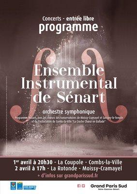 Affiche Ensemble Instrumental de Sénart