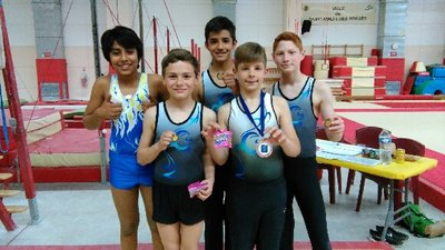 image de couverture de Les jeunes gymnastes locaux à l'honneur en cette fin de saison