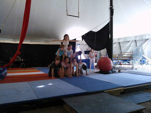 image de couverture de Stage d'initiation aux arts du Cirque