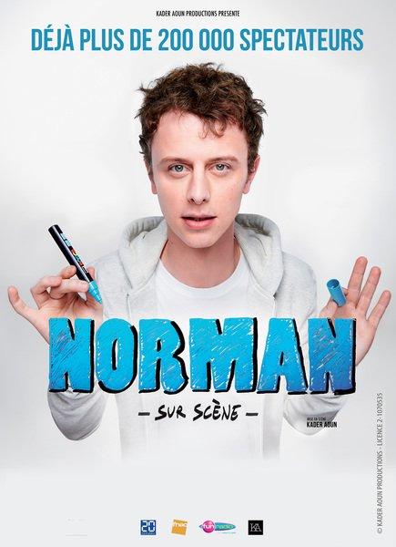 image de couverture de Norman sur scène