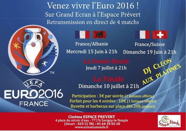 image de couverture de EURO 2016 au Cinéma PREVERT !