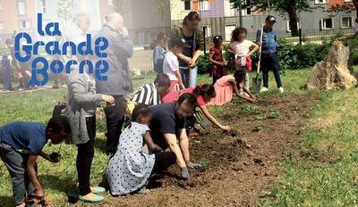 image de couverture de Un après-midi au Jardin de l'Ellipse à Grigny