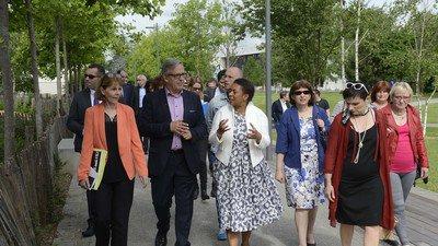 image de couverture de Politique de la ville : Hélène Geoffroy visite l'agglomération