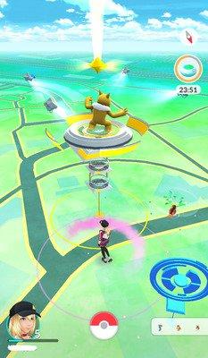 Pokemon Go à Évry