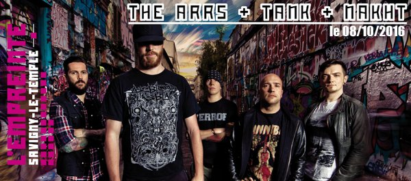 image de couverture de THE ARRS + TANK + NAKHT