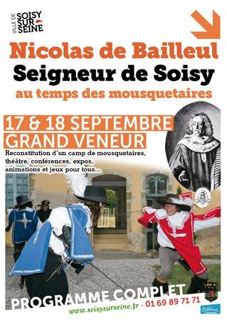 image de couverture de Nicolas de Bailleul, Seigneur de Soisy, au temps des mousquetaires