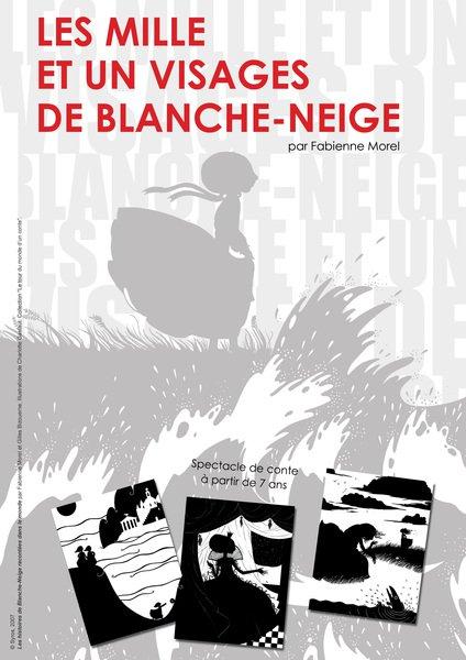 image de couverture de Les 1001 visages de Blanche-Neige