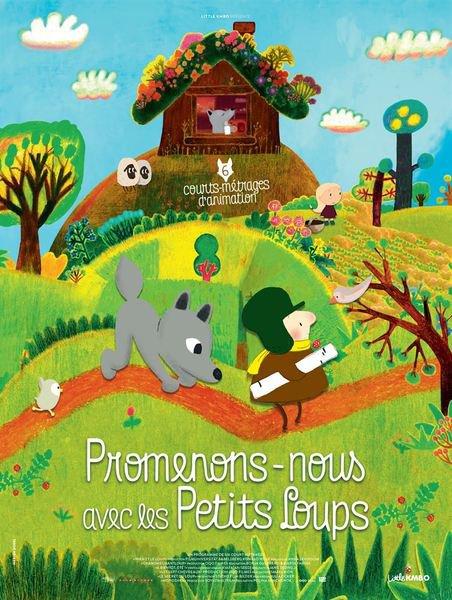 image de couverture de Animation autour du film Promenons-nous avec les petits loups