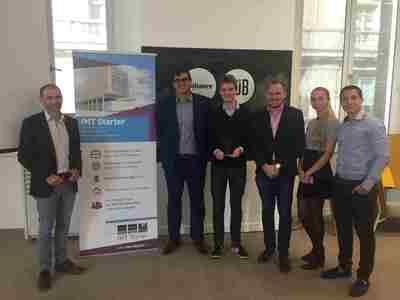 BRUCE remporte la 7ème édition du Trophée Start-Up Numérique d'IMT Starter à Evry