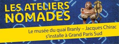 image de couverture de Les Ateliers nomades du Quai Branly à Grand Paris Sud