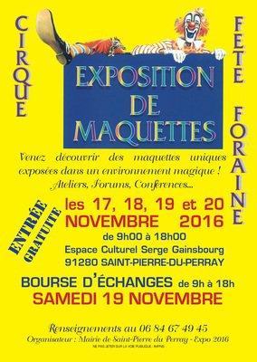 image de couverture de Exposition de maquettes de cirque et fête foraine