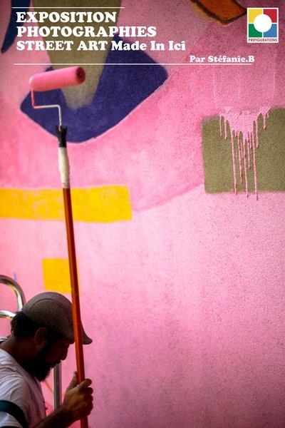 image de couverture de Exposition Photographies Street Art Made In Ici