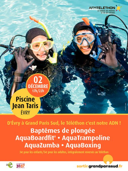 image de couverture de Le Telethon à la Piscine Jean-Taris