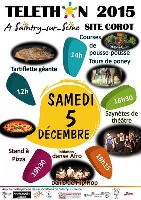 image de couverture de Le Téléthon à Saintry