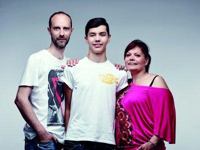 image de couverture de Matthieu, 16 ans, malvoyant et ambassadeur du Téléthon 2016