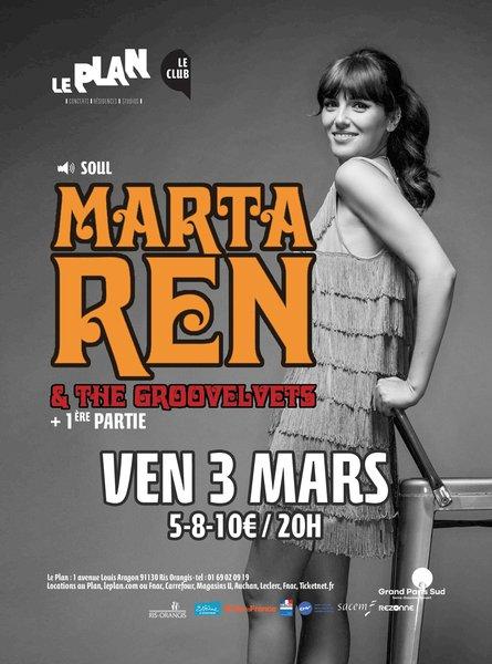 Marta ren and the groovelvets dj plande