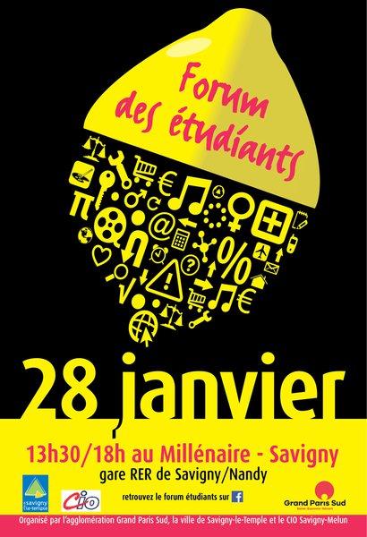 image de couverture de Forum des étudiants à Savigny-le-Temple