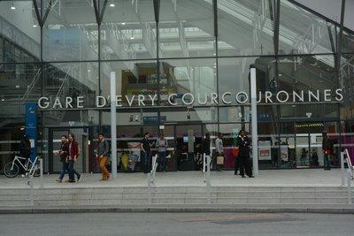 Gare Evry Courcouronnes Centre