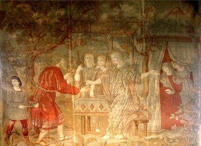 1 des 7 tapisseries- Abraham et Sarah