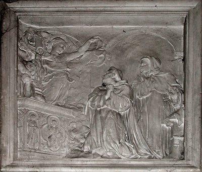 Bas relief Saint Thomas d'Aquin
