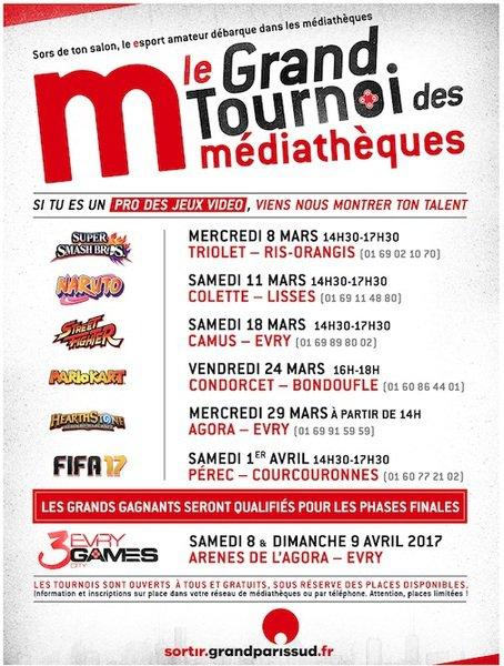 image de couverture de Le Grand Tournoi des médiathèques : Mario Kart