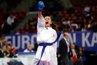 Sirine Lounes décroche la médaille de bronze dans la catégorie espoir -50kg