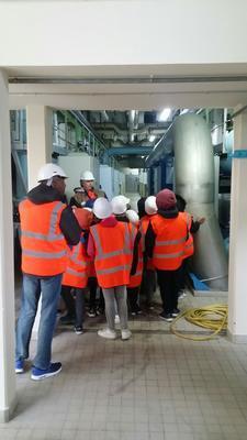 Photo visite usine Morsang-sur-seine