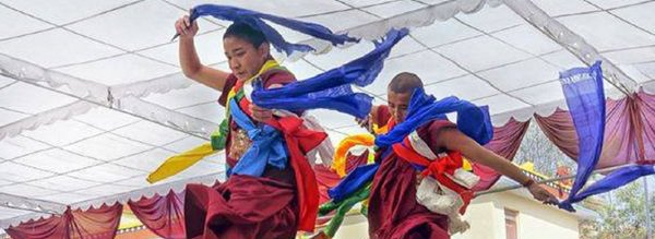 image de couverture de Danses et chants du Tibet et de l'Himalaya : du sacré au folklore