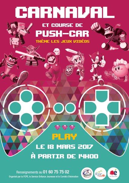 image de couverture de Carnaval d'Étiolles et course de push-cars