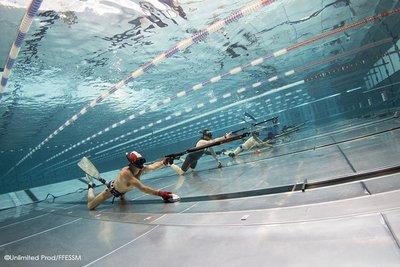 image de couverture de Compétition de tir sur cible aquatique