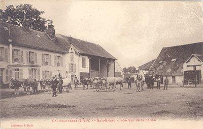 Carte postale historique