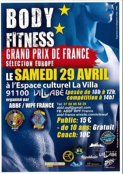 image de couverture de BODY FITNESS - Grand Prix de France - Sélection Europe