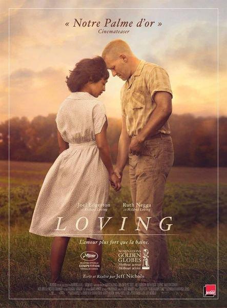 image de couverture de Séance unique du film Loving, soirée de lutte contre les discriminations