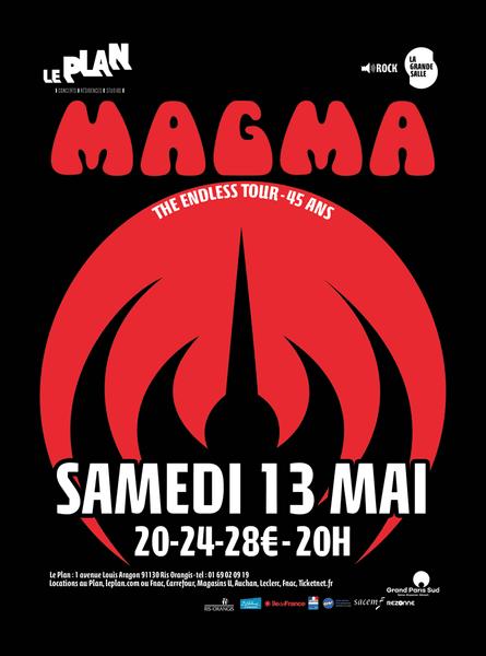 Magma the endless tour