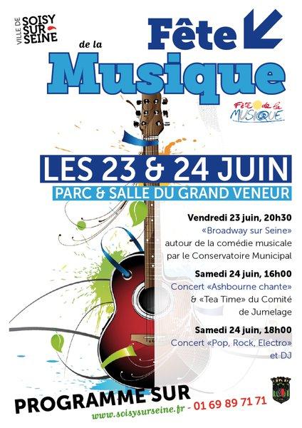 image de couverture de Fête de la Musique 2017 à Soisy-sur-Seine