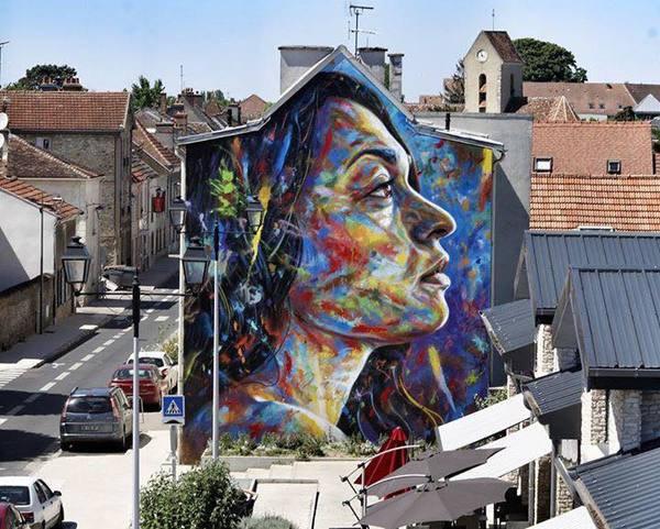 image de couverture de Inauguration de la fresque street art de David Walker à Lieusaint