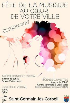 image de couverture de Fête de la musique 2017 à Saint-Germain-lès-Corbeil