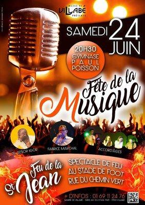 image de couverture de Fête de la musique 2017 et feux de la Saint-Jean à Villabé