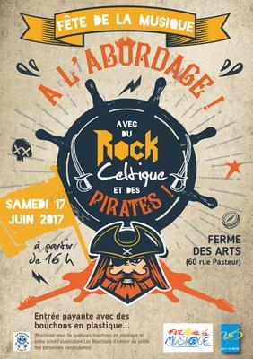image de couverture de Fête de la musique 2017 à Vert Saint Denis