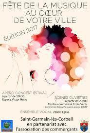 Fête de la musique 2017  Saint-germain-lès-corbeil