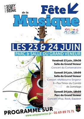 Fête de la musique 2017 Soisy-sur-seine