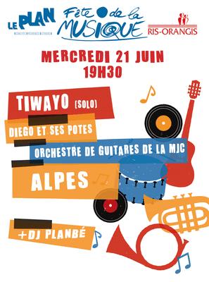 image de couverture de Fête de la musique à Ris Orangis