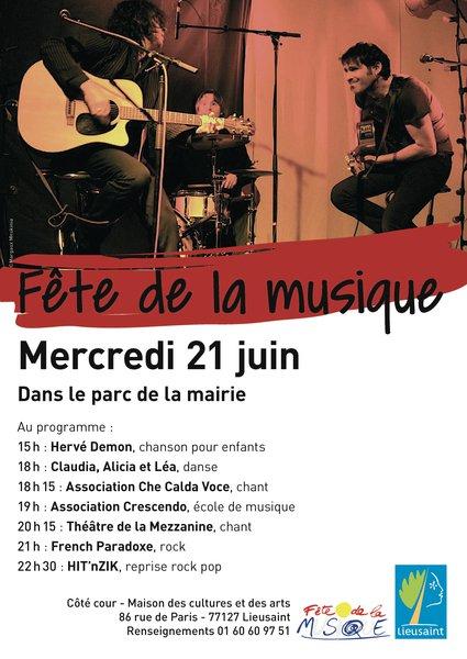image de couverture de Fête de la musique 2017 à Lieusaint