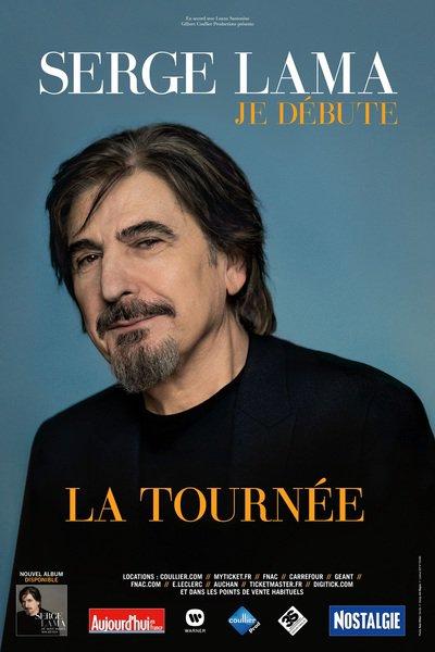 image de couverture de Serge Lama: Je débute