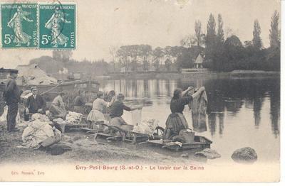 lavoir sur Seine, Evry
