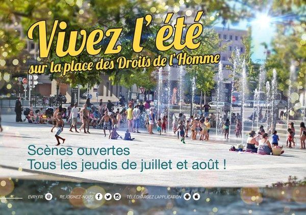 image de couverture de Scène ouverte de la Place des Droits de l'Homme
