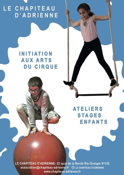 image de couverture de Stage d'initiation aux arts du cirque (7-14 ans)